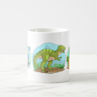 dinosaurs coffee mug