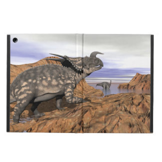 Dinosaurs landscape - 3D render Cover For iPad Air