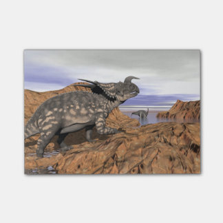 Dinosaurs landscape - 3D render Post-it® Notes