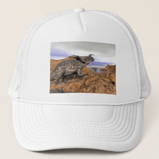 Dinosaurs landscape - 3D render Trucker Hat