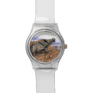 Dinosaurs landscape - 3D render Watch