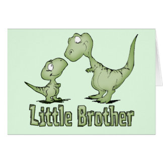 Dinosaurs Little Brother Note Card