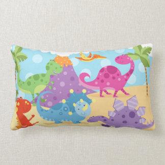 Dinosaurs Lumbar Pillow