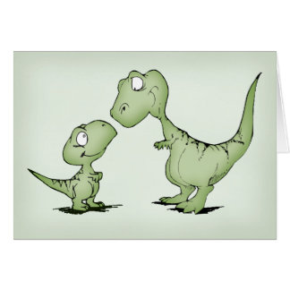 Dinosaurs Note Card
