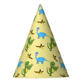 Dinosaurs Party Hats