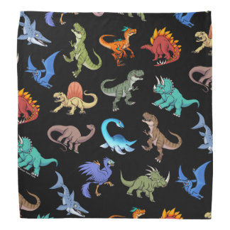 Dinosaurs Rainbow II School supplies Bandana
