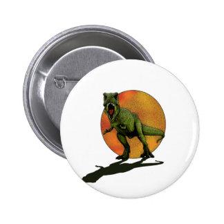 Dinosaurs T-Rex 2 Inch Round Button