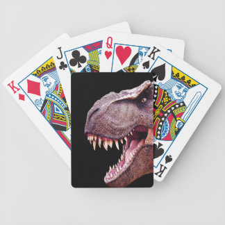 Dinosaurs T-Rex Bicycle Playing Cards