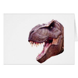 Dinosaurs T-Rex Card