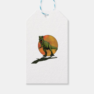 Dinosaurs T-Rex Gift Tags