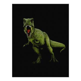 Dinosaurs T-Rex Letterhead