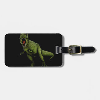 Dinosaurs T-Rex Luggage Tag