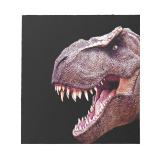Dinosaurs T-Rex Notepad