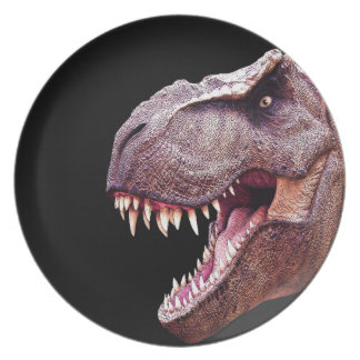 Dinosaurs T-Rex Party Plate