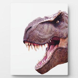 Dinosaurs T-Rex Plaque