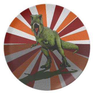 Dinosaurs T-Rex Plate