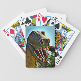 Dinosaur's Teeth Bicycle Playing Cards