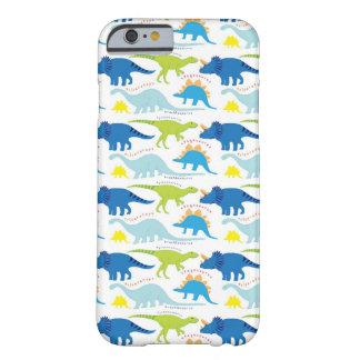 Dinosuar conçoit des cadeaux de Dino de motif de Coque iPhone 6 Barely There