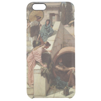 Diogenes by John William Waterhouse Clear iPhone 6 Plus Case