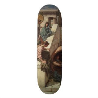 Diogenes by John William Waterhouse Skate Board Deck