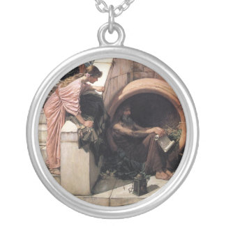 Diogenes Silver Plated Necklace