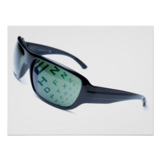 Dioptric sunglasses posters