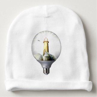 Diorama Light bulb Lighthouse Baby Beanie