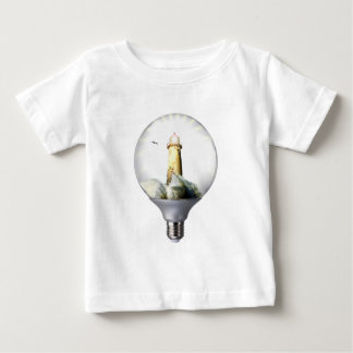 Diorama Light bulb Lighthouse Baby T-Shirt