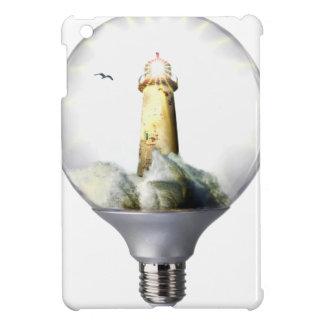Diorama Light bulb Lighthouse Cover For The iPad Mini