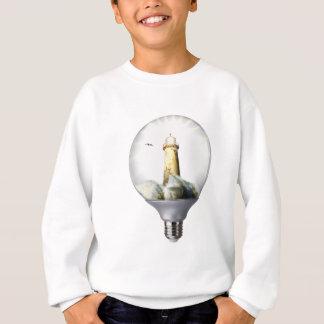 Diorama Light bulb Lighthouse Sweatshirt