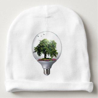 Diorama Light bulb Tree Baby Beanie