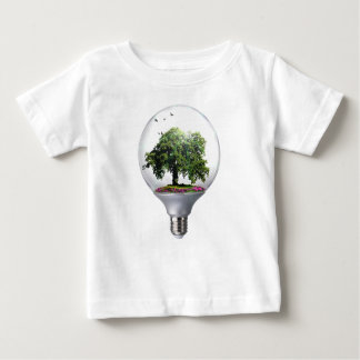 Diorama Light bulb Tree Baby T-Shirt