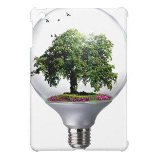 Diorama Light bulb Tree iPad Mini Covers