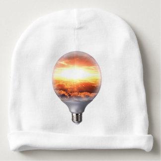 Diorama Sunrise Light Bulb Baby Beanie