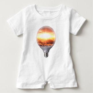 Diorama Sunrise Light Bulb Baby Romper