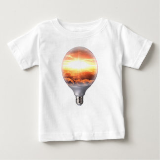 Diorama Sunrise Light Bulb Baby T-Shirt