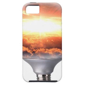 Diorama Sunrise Light Bulb iPhone 5 Covers