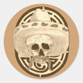 Dios de los Muertos,  Dude !!! Classic Round Sticker