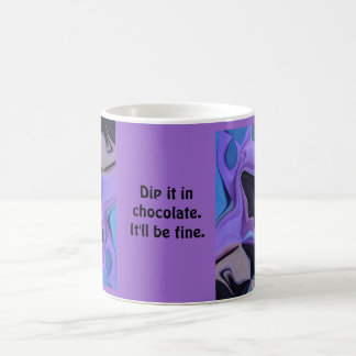 dip it in chocolate coffee mug