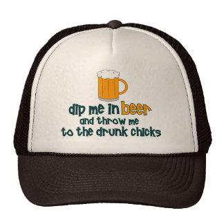 Dip Me In Beer Trucker Hats
