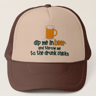 Dip Me In Beer ....... Trucker Hat