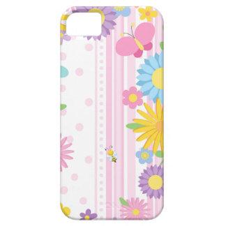 D'iPhone de fleurs cas Se et 5S Coques iPhone 5