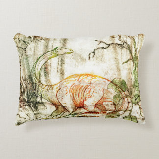 Diplodocus Decorative Pillow