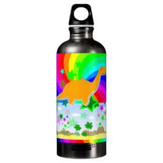 Diplodocus Pixel Dinosaur Water Bottle