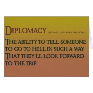 Diplomacy Card