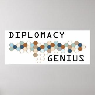 Diplomacy Genius Poster