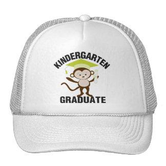 Diplômé vert de jardin d'enfants casquette