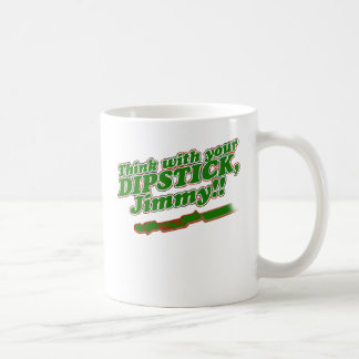 Dipstick Coffee Mug