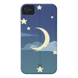 Dire Moon and Stars iPhone 4 Covers