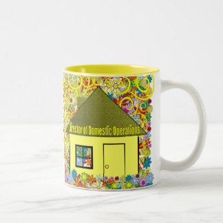 Directeur des opérations domestiques mug bicolore